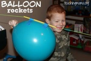 Balloon Rockets