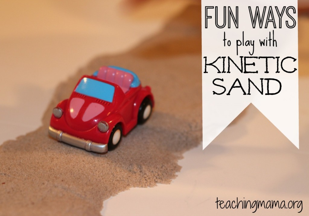 Fun Ways to Play with Kinetic Sand