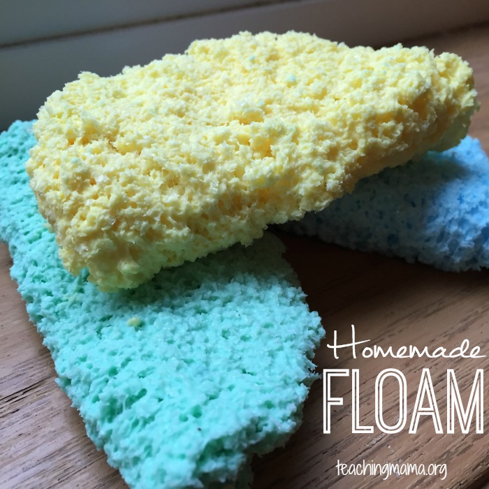 Homemade Floam Recipe