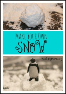 How to Make Your Own Snow