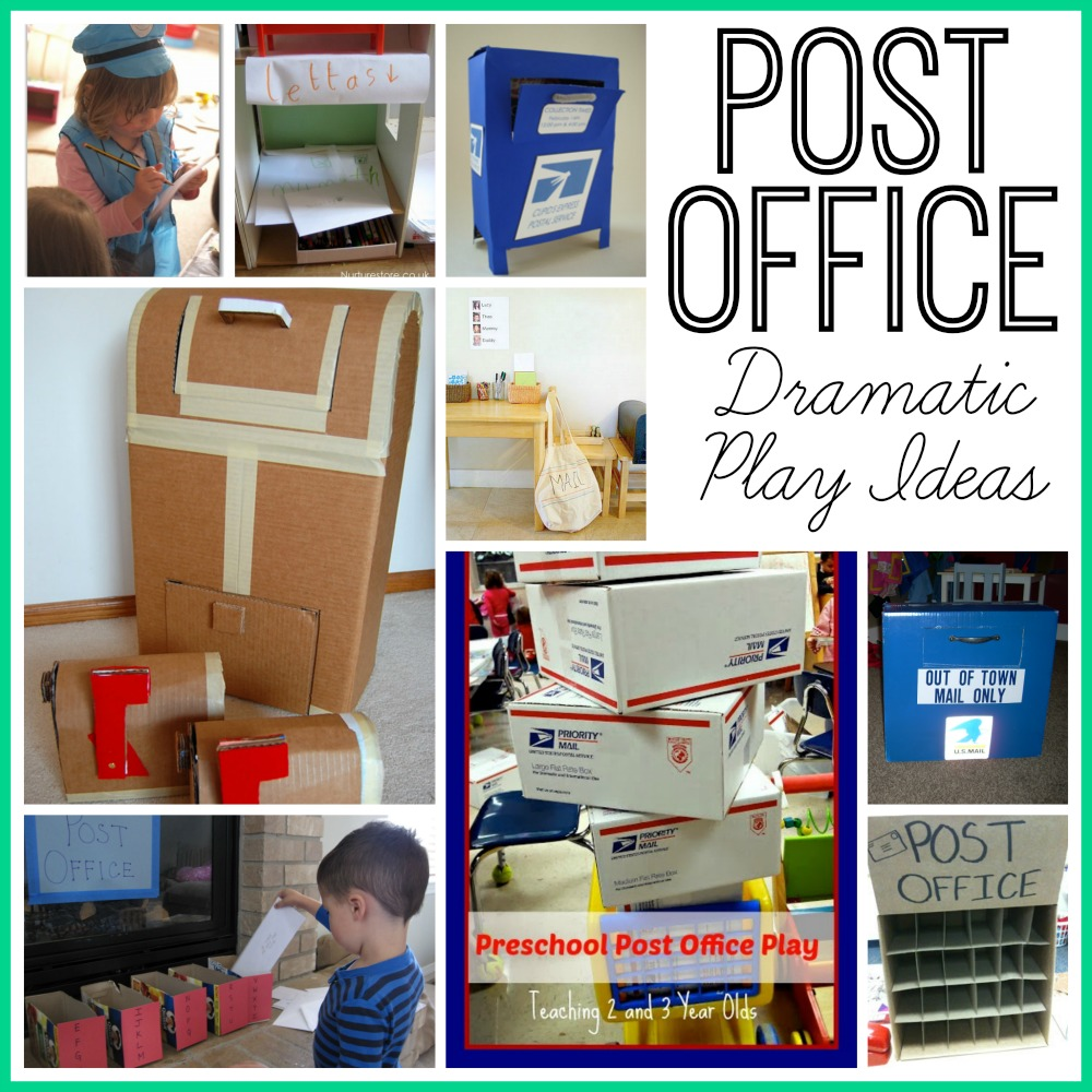 Post Office Dramatic Play Ideas