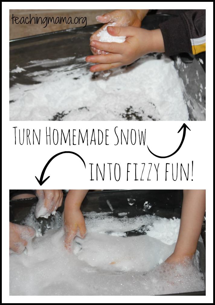 fizzy snow