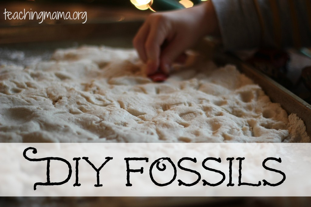 homemade fossils