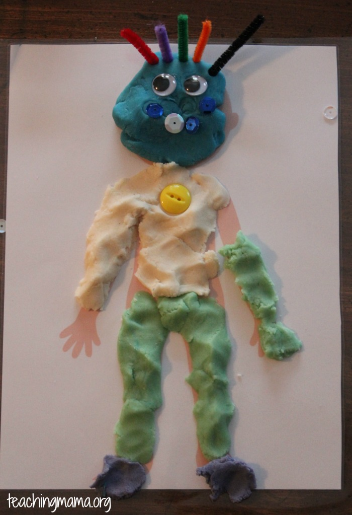 playdough boy
