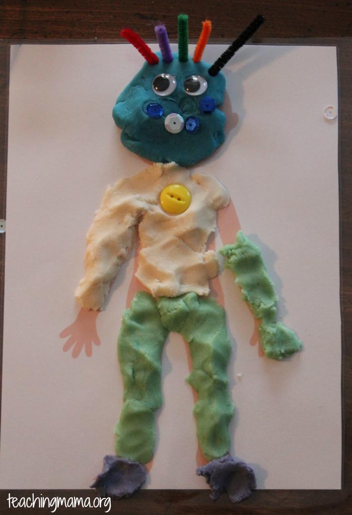 playdough boy