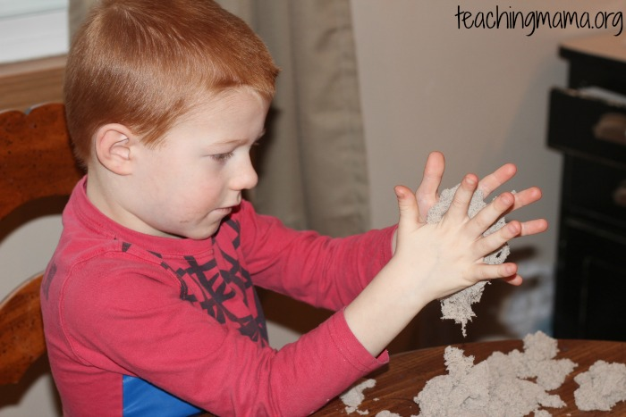 how to make 1 cup of kinetic sand with cornstarch