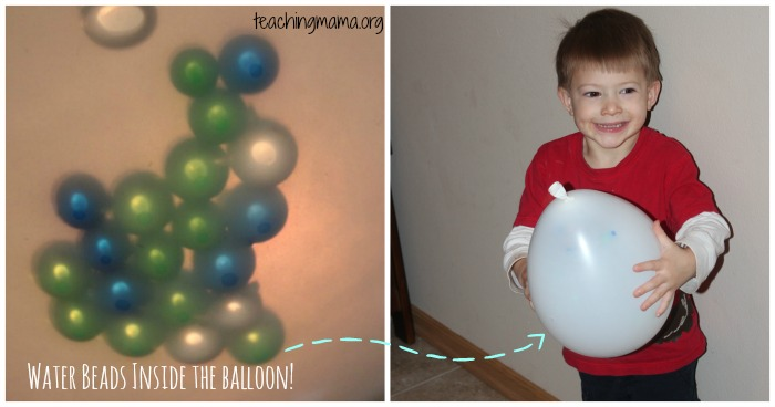 water beads balloon