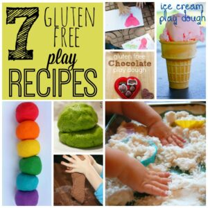 7 Gluten Free Play Recipes
