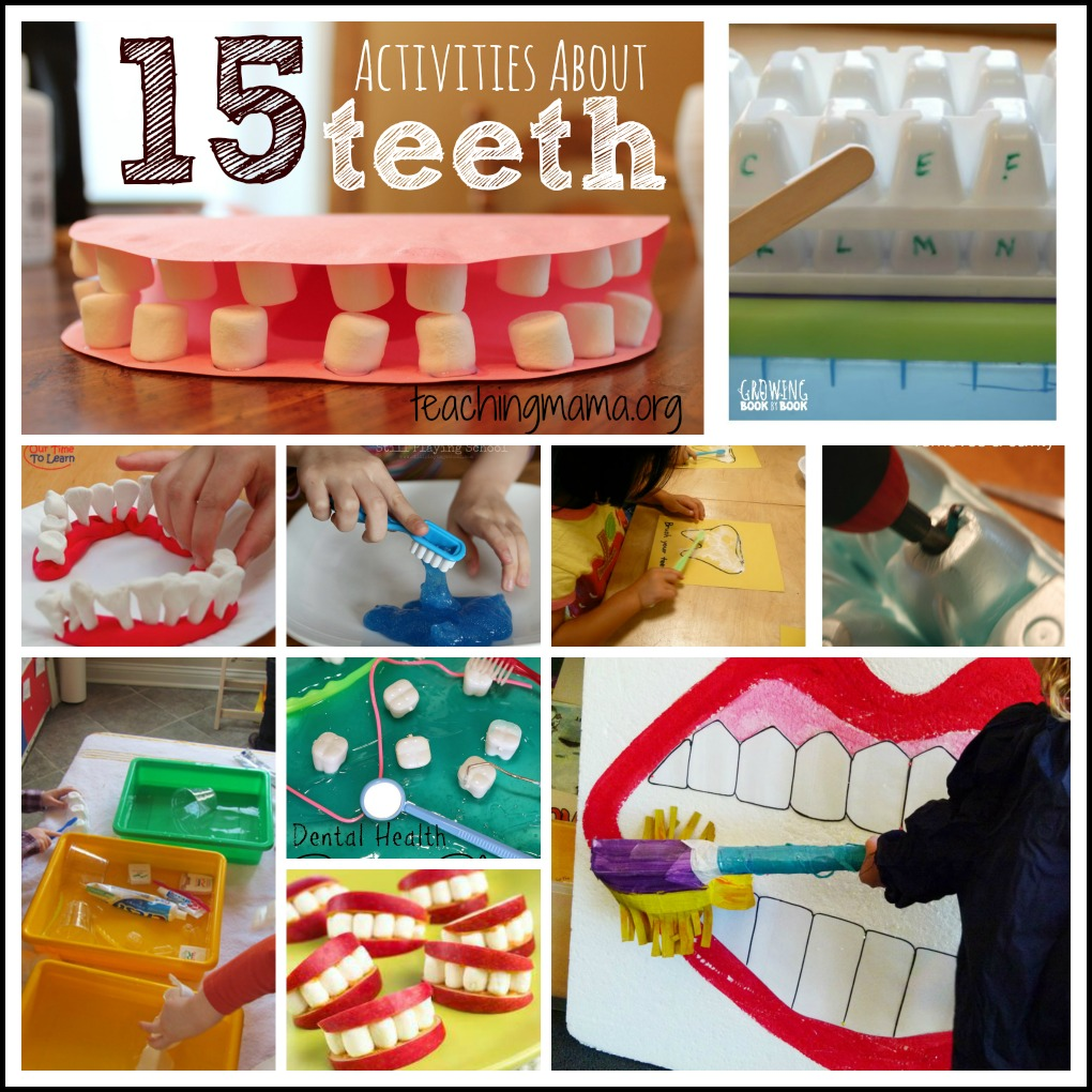 15 Activities About Teeth for Preschoolers