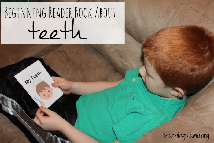 my teeth beginning reader