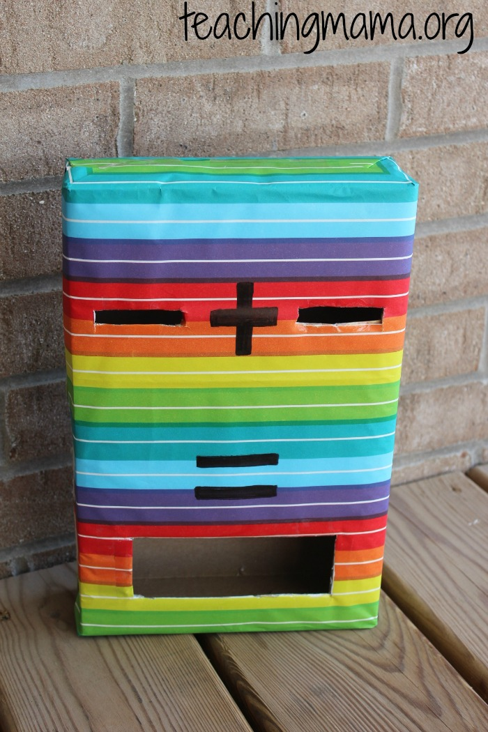 rainbow addition box