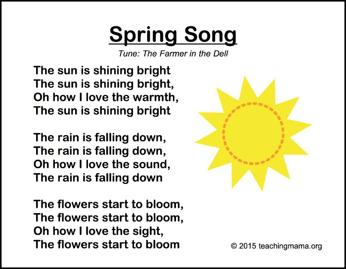 to download the spring preschool songs click here spring songs for preschoolers - Spring Pictures To Download