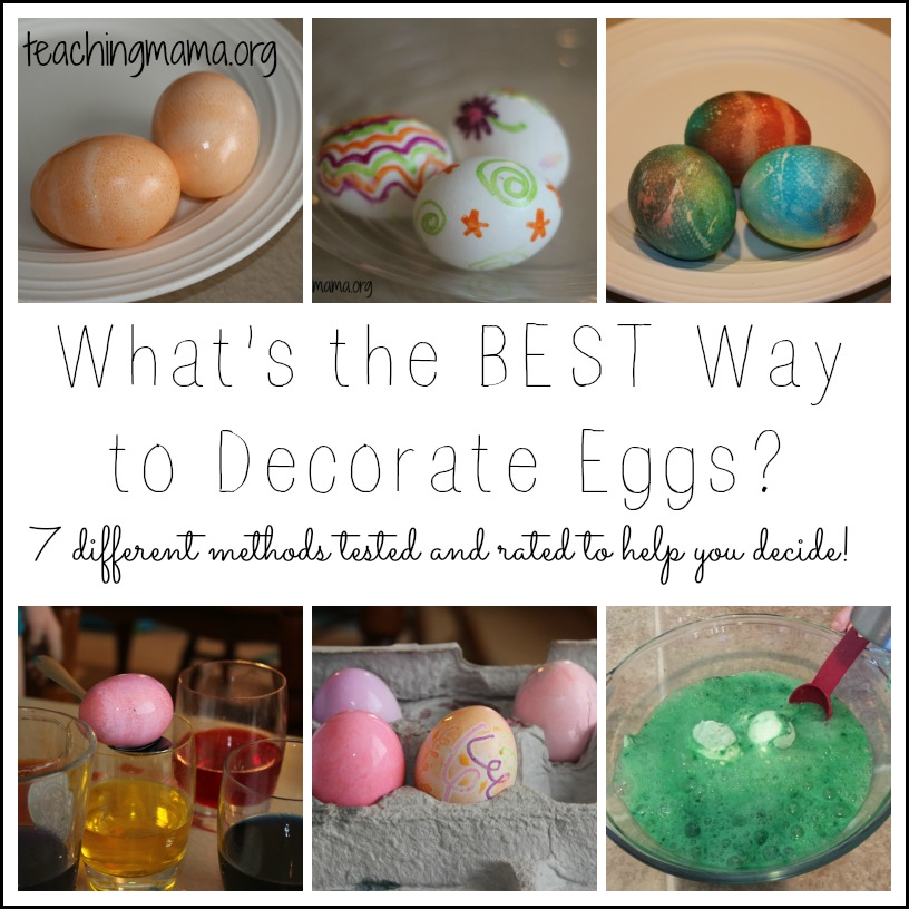 What's the Best Way to Decorate Eggs?