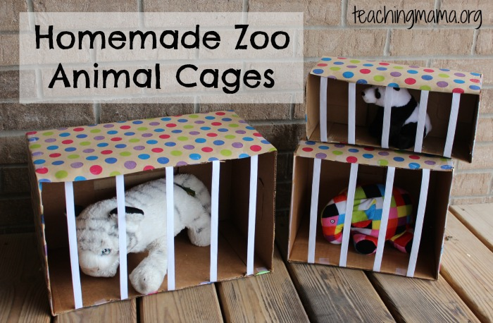Zoo Animals Dramatic Play Activity Teaching Mama