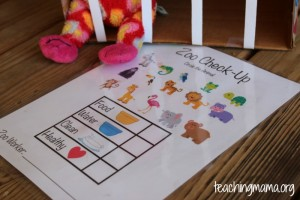 Zoo Animals – Dramatic Play Activity