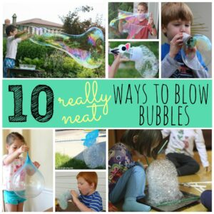 10 Really Neat Ways to Blow Bubbles