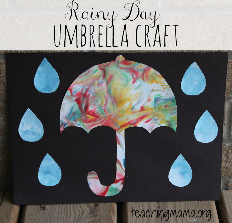 umbrella craft ideas for kids