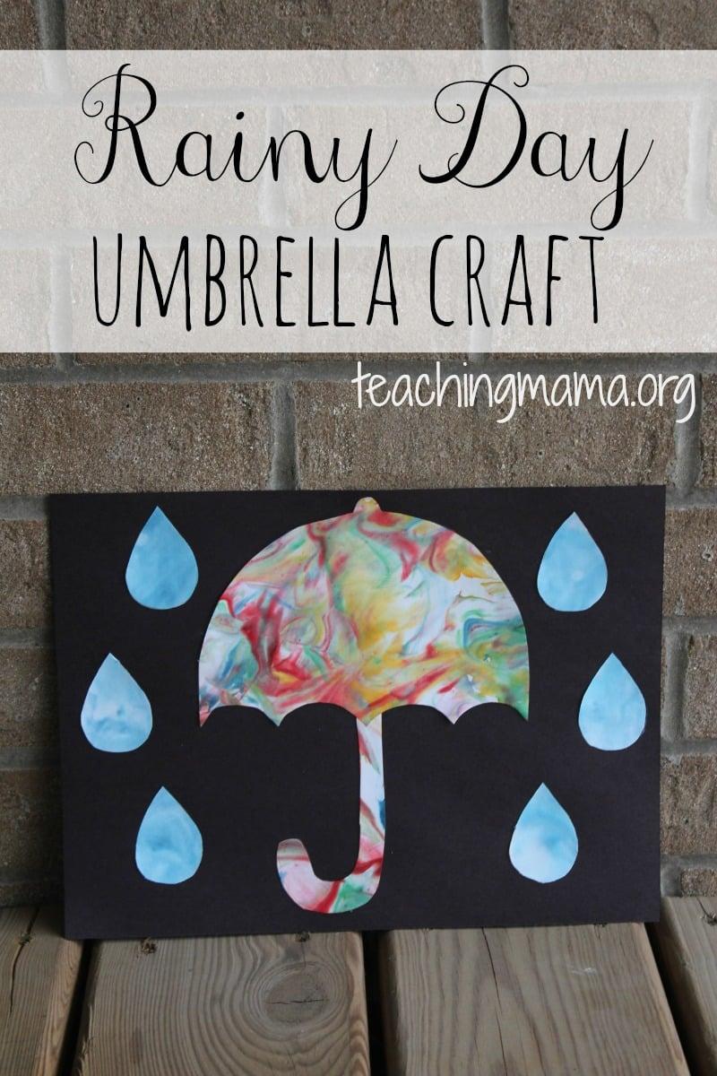 Rain Umbrella Craft