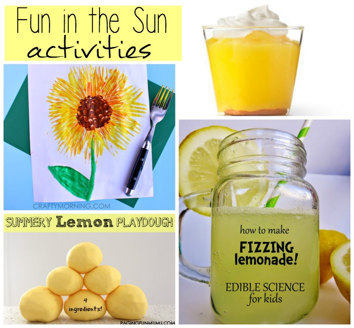 Fun in the Sun Activities
