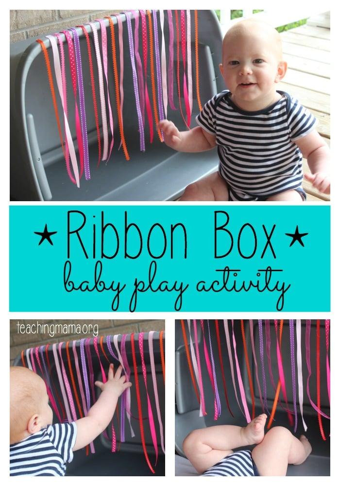 Ribbon Box - Baby Play Activity