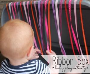 Ribbon Box – Baby Play Activity