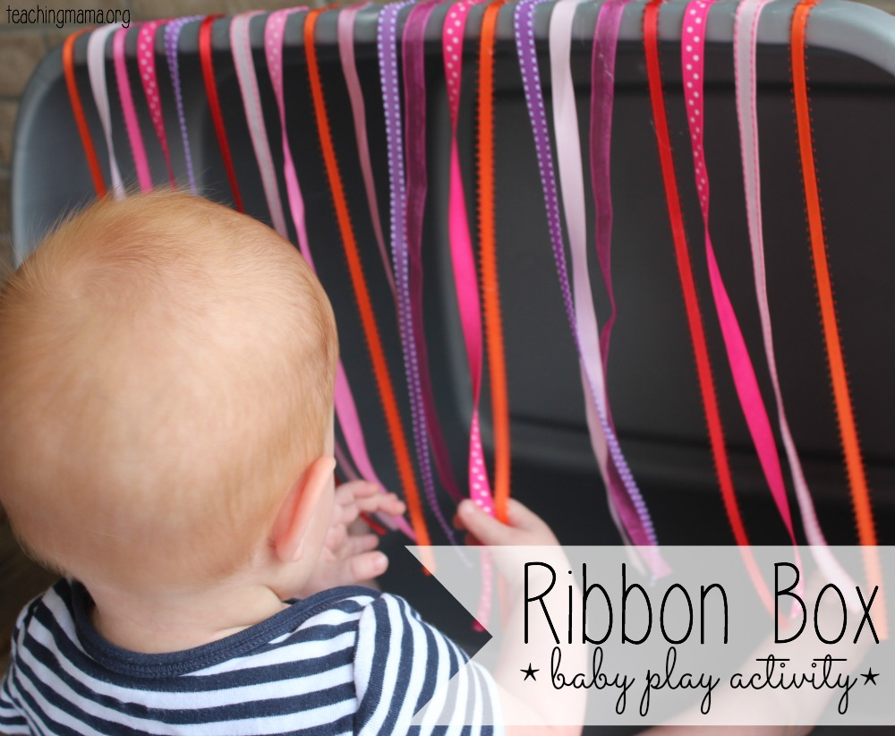 Ribbon Box -- Baby Play Activity