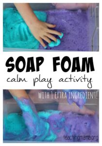 Soap Foam – Calm Play Activity