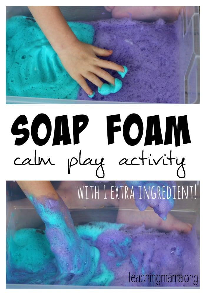 Soap Foam -Pin