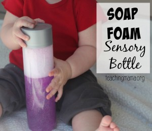 Soap Foam Sensory Bottle