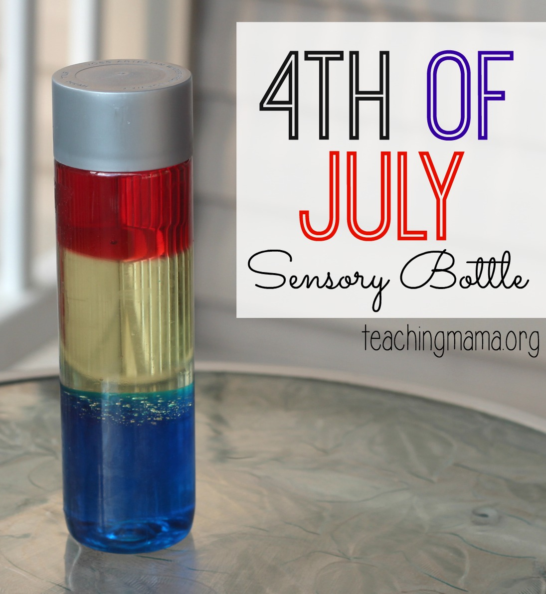 4th of July Sensory Bottle