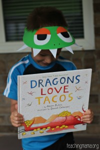 Dragons Love Tacos Book Activities