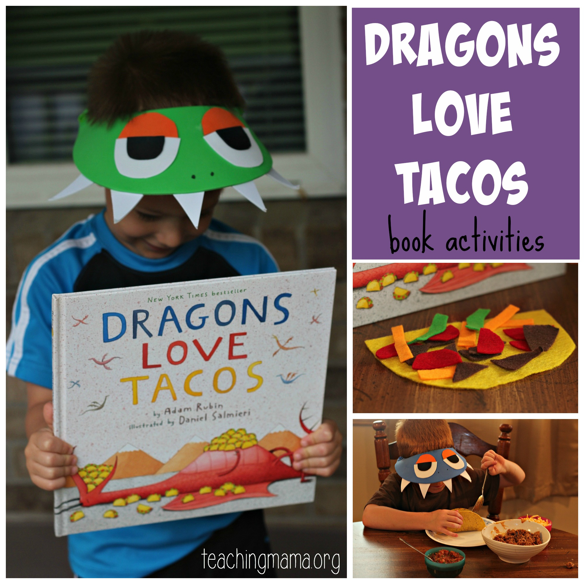 Dragons Love Tacos- purple