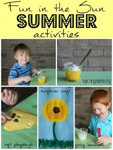Fun in the Sun Summer Activities