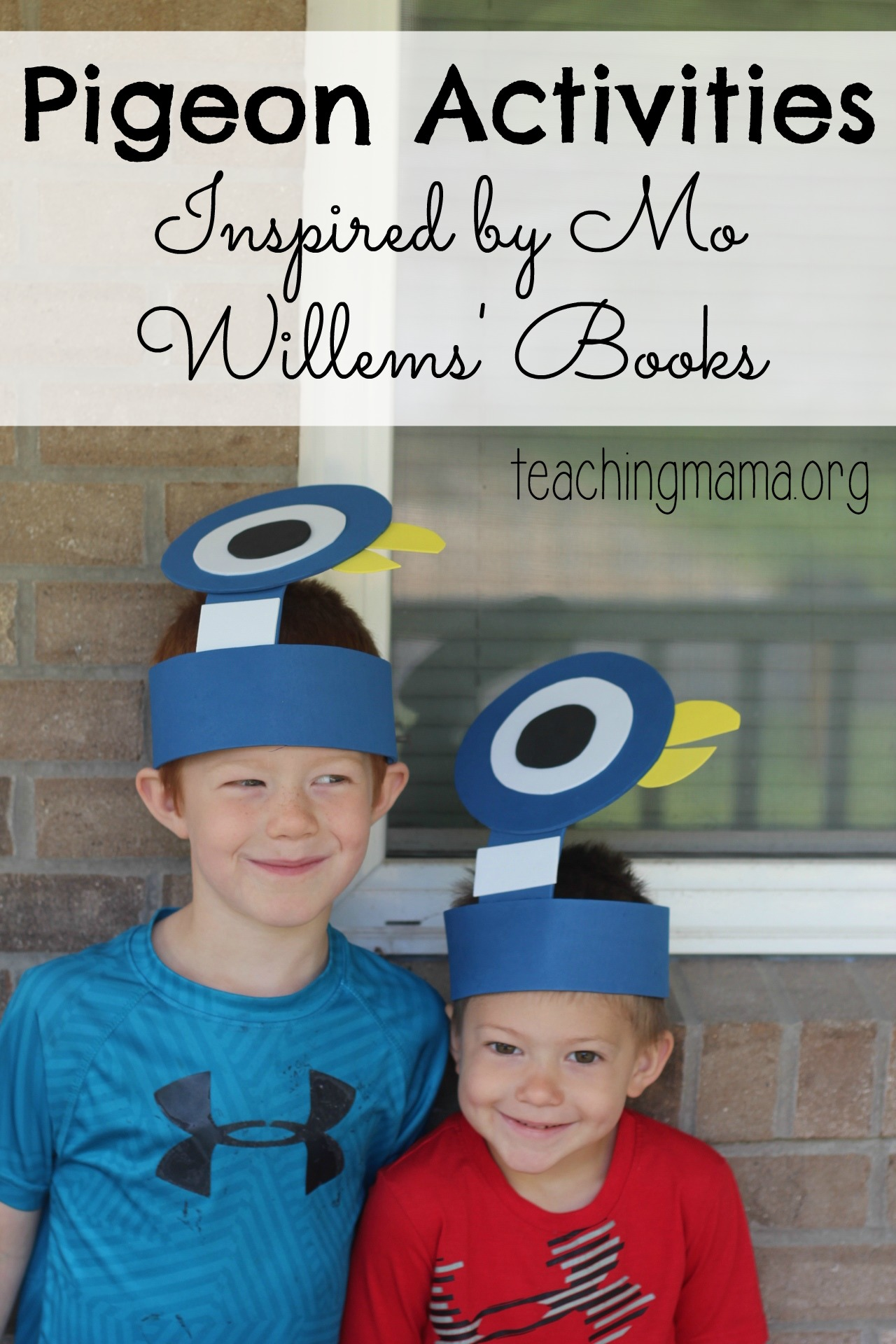 Pigeon Activities by Mo Willems