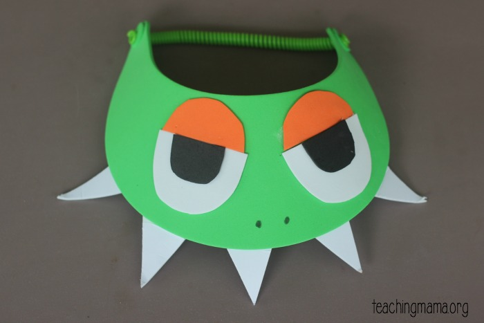 green dragon hat