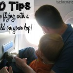 10 Tips for Flying with a Child on Your Lap