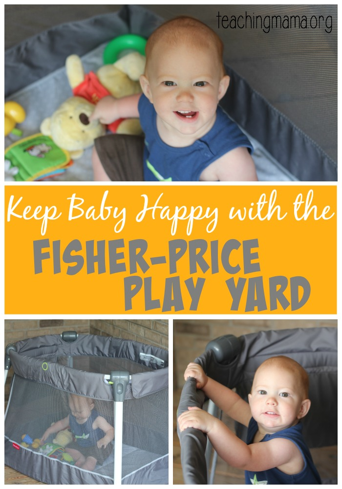Keep Baby Happy with the Fisher-Price Play Yard