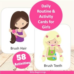 daily-routine-activity-cards-for-girls-cover