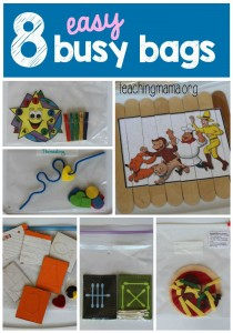 8 Easy Busy Bags