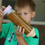 Pencil Sensory Bottle