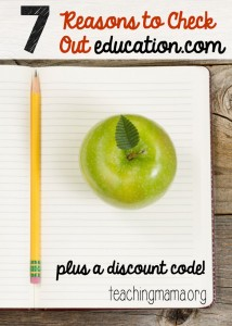 7 Reasons to Check Out Education.com {Plus a Discount!}
