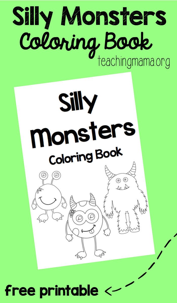 Silly Monsters Coloring Book