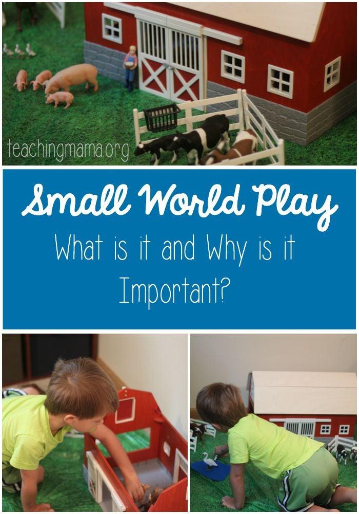 Small World Play Pin