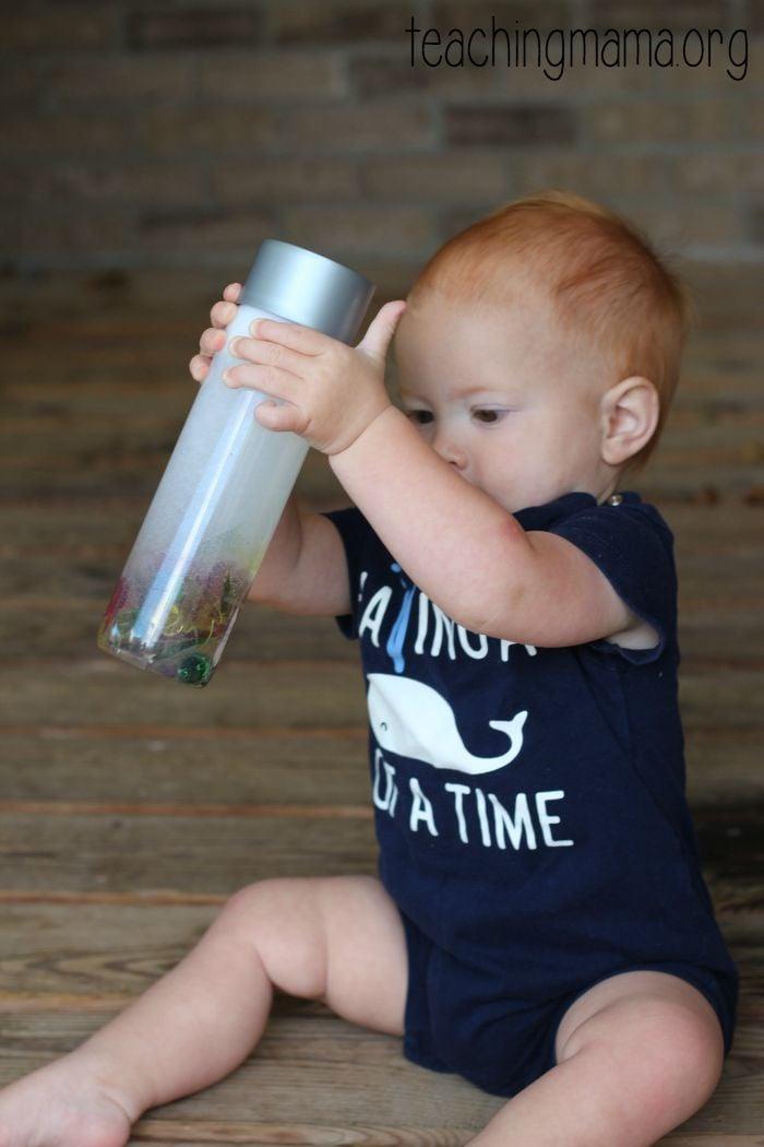 shaking the bottle