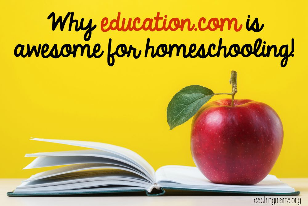 Why Education.com is awesome for homeschooling!