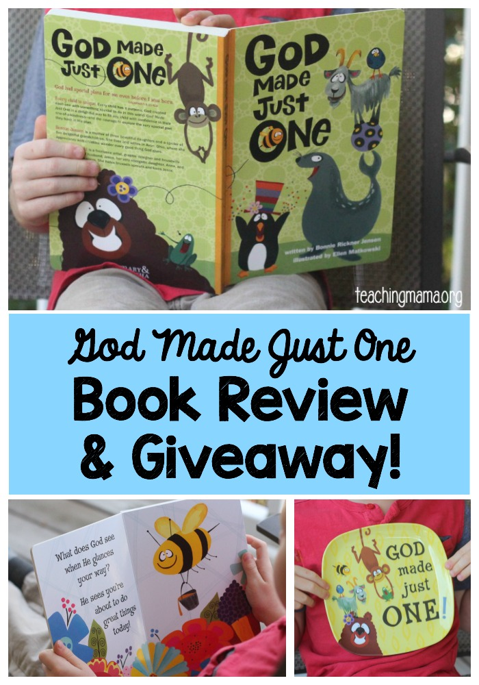 God Made Just One - Review & Giveaway