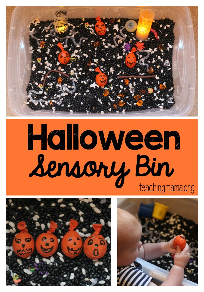Halloween Sensory Bin Pin