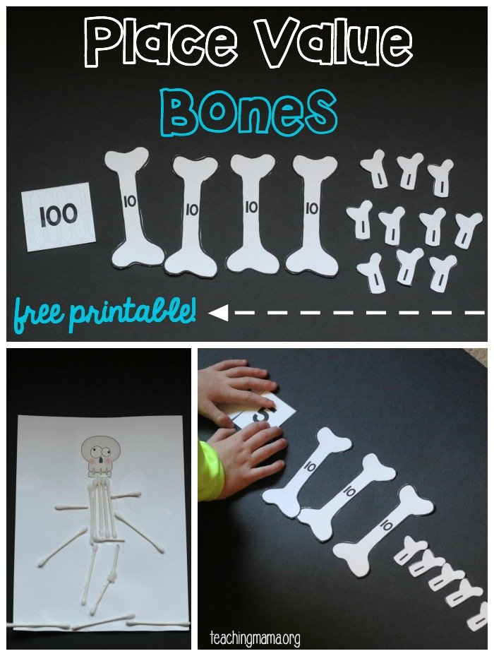 Place Value Bones
