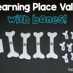 Place Value Bones {Free Printable}