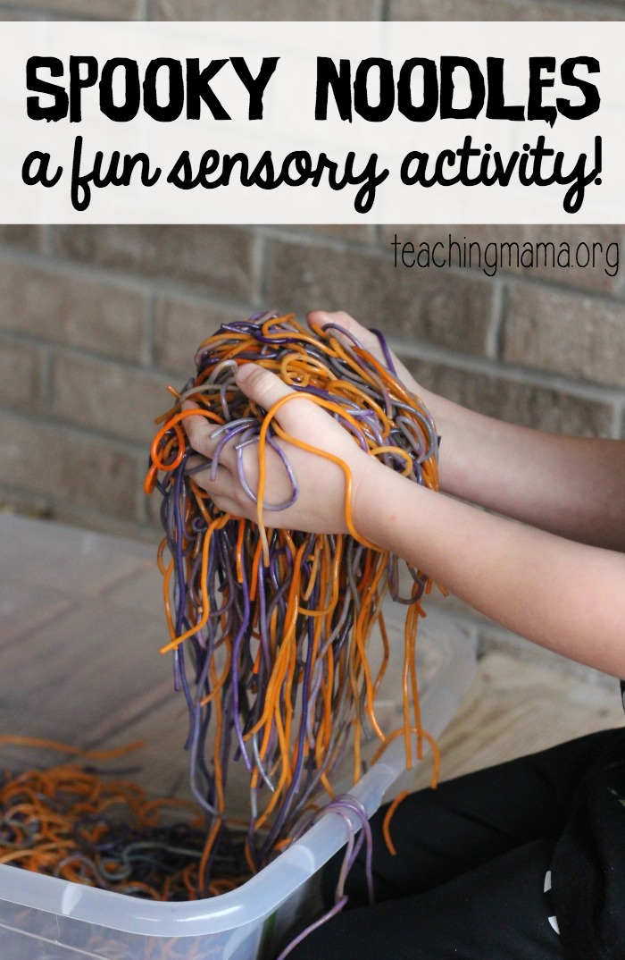 Halloween Sensory Ideas